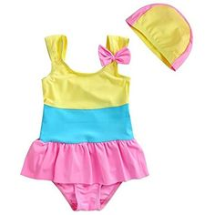 b78523db14ab4 Children Swimwear Girls Bathing Suit 2017 New One-Piece Suits Children's  Swimsuit High Quality Kids Swimming Beachwear Clothes
