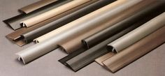 Vinyl Mouldings - Inserts and Reducers