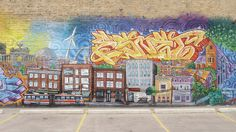 Parkdale Mural, Toronto by margonaut, via Flickr