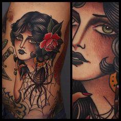 Great Tattoo by Tony Nilsson. See More :: #tattoo #tattoos