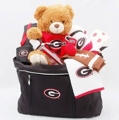 Georgia Baby Gift by BabyBasketsU.com on Etsy, $130.00