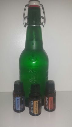 Germ fighting, teeth whitening, fresh breath mouthwash! My family's favorite!**RECIPE: 16 oz glass bottle; 2 C filtered water, 6 drops On Guard blend, 4 drops Wild Orange, and 2 drops Peppermint.***update*** I recently subbed spearmint for peppermint and it was a hit! :)