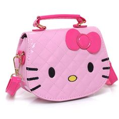 ecc8b41a9c Hello Kitty Fashion Messenger Bag PU Leather Hello Kitty Handbags