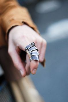 Armor rings. love them so freaking much