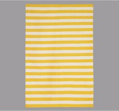 Seriously, now.  I need this.  Okay, I want this.  Badly.  Draper Stripe Citrine Rug.