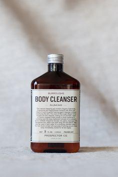 Blue Button Shop - Burroughs Body Cleanser - 8 oz. - PRO15NPERMNAT103006