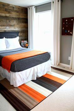 Totally killer boys bedroom!  I lu-u-u-rve it!
