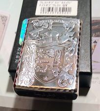 japanese-2013-zippo-crest-of-middle-age-night-of-crest-silver-coating-very-cool