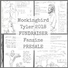 This is a PRESALE for the Mockingbird Tyler 2018 conference FUNDRAISER FANZINE by RoughEdgesLife on Etsy https://www.etsy.com/listing/582930940/this-is-a-presale-for-the-mockingbird