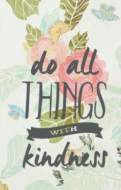 Con amabilidad todo es mas fácil.
