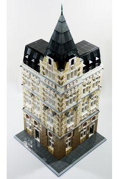 LEGO Modular Building: Main Post Office | Flickr - Photo Sharing!