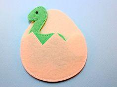 Diplodocus Dinosaurs Felt Finger Puppet Pattern 7