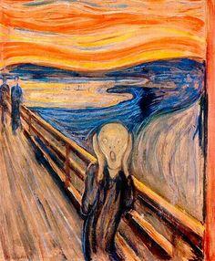 El Grito, Edvar Munch.