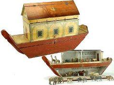 vintage noah's ark toy.