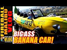 WORLD'S LARGEST BANANA CAR! - FIREBALL MALIBU VLOG 610 FIREBALL'S BOOKS ON AMAZON! http://ift.tt/2faxJCq FIREBALL'S BLOG! http://ift.tt/12aPqeo FIREBALL MALIBU VLOG - Inspiring you to BREAKOUT! Do WHAT YOU LOVE and LOVE WHAT YOU DO! WORLD'S LARGEST #BANANACAR! - FIREBALL MALIBU VLOG 610 - After a day of cool cars Fireball spots the world's largest banana... And it's a Car! THE VLOG STORE IS OPEN! Snag one of Fireball's new HATS & MUGS and support the Vlog! http://ift.tt/2fay7ki Best things…