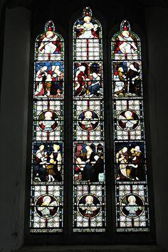 Beautiful windows, Mitcheldean Church, Mitcheldean, Gloucestershire. 23rd December 2014 St Michael, Times Square, Saints, Angels, Beautiful, San Miguel, Angel, Saint Michael, Archangel Michael