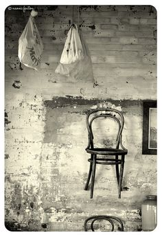 Old chair. Stanley Tasmania, Old Chairs, Curiosity, Continents, Bucket, Organic, Australia, Italy, Treats