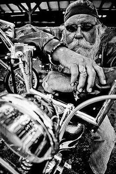 Old biker: