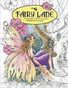 AmazonSmile: Fairy Lane: Enchanting Fairies to Color (Fairy Lane Books) (Volume…