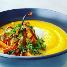 RECIPE: Carrot Soup with Charred Walnuts