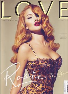 Rosie Huntington-Whiteley appears in this image torn by Hedvig W. More than 14 StyleSaints retore this image. Mert and marcus photography, rosie huntington whiteley, love magazine, cheetah print dress. Cabelo Pin Up, Peinados Pin Up, Pin Up Girls, Pins Vintage, Estilo Pin Up, Love Magazine, Magazine Covers, Hair Magazine, Magazine Art