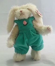 Ty Beanie Babies Attic Treasures Collection Ivy The Bunny Rabbit 1993 Toy  Gift  Ty   cc4e2a2608da