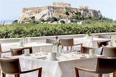 Hotel Grande Bretagne Rooftop Garden Restaurant and Bar, Athens, Greece