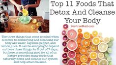 Top 11 Foods That Detox And Cleanse Your Body