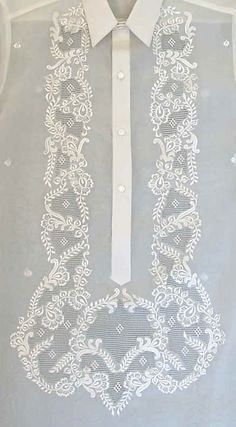 Image result for filipino embroidery Lace Design, Floral Design, Alibata, Barong Tagalog, Philippine Art, Filipino Tattoos, Simple Designs, Embroidery Patterns, Fabric
