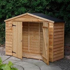 Blooma 7X3 Apex Roof Timber Bike Shed - Assembly Required | Departments | DIY at B&Q