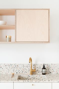 Can You Handle This Trend? - Terrazo - In case you didn't notice, the 'terrazzo' design trend is making a huge comeback this year, and we are already in love wi House Interior, Terrazzo, Kitchen Paint, Kitchen Interior, Interior, Scandinavian Style Home, Kitchen Trends, Kitchen Remodel, Kitchen Renovation