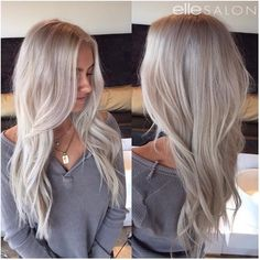 Cant get enough of this silvery blonde by Rheanna! Cant get enough of this silvery blonde by Rheanna! The post Cant get enough of this silvery blonde by Rheanna! appeared first on Frisuren Blond. Silver Blonde, Platinum Blonde Hair, Medium Ash Blonde Hair, Brown Hair, Soft Blonde Hair, Caramel Blonde Hair, Brassy Blonde, Bleach Blonde Hair, Blonde Wig