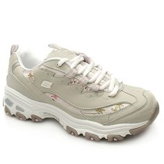 Skechers Sport D Lites Flourish Casual styled lightweight trainer from Skechers. Upper has pretty fabric detail and a tough lacing system along with branding detail on the tongue and on the outside. Perforation like detail in some p http://www.comparestoreprices.co.uk/womens-shoes/skechers-sport-d-lites-flourish.asp