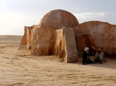 Tunisia. Loved visiting this. Old Star Wars set.