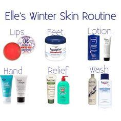 winter skin routine
