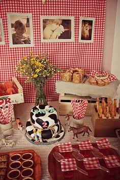 Mesa dulce de cumple