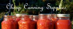 Save on Canning