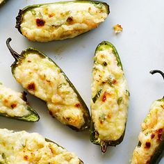With shrimp, onions, cream cheese, and Leyden cheese. | 31 Fearless Ways To Stuff A Jalapeño Chile