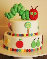 Hungry Caterpillar cake by Bronnie Bakes on Little Big Company blog