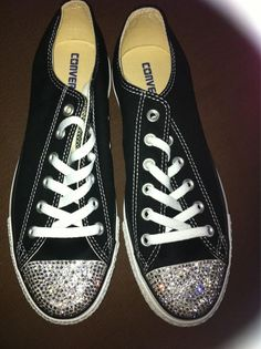 Blinged out converse ;0