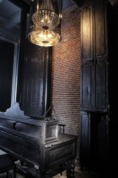 """HOTEL : """"lute suites""""   amsterdam, netherlands   by designer marcel wanders   CONCEPT: seven 18th-century worker cottages have been converted into seven modern suites."""