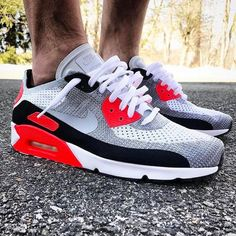 timeless design 09049 c1baf Nike Air Max 90 Ultra Flyknit x Infrared  f mutual http   feedproxy.