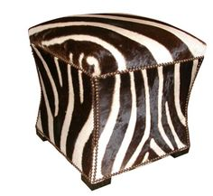 need this for my new room! Ottoman Decor, Ottoman Furniture, Safari Home Decor, British Colonial Decor, African Home Decor, Winter House, African Design, Furniture Styles, Inspired Homes
