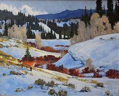 "greg mchuron artist | Movement?"" by Greg McHuron, oil, 24 x 30 in."