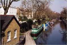 Little Venice, Maida Vale is one of my favorite spots in London to walk down with my little sausage dog Flo! And there is a little water boat cafe that I love to stop off in Little Venice London, Maida Vale, London Landmarks, Cruise Destinations, Flight And Hotel, Vintage London, Us Images, Walks, Rome