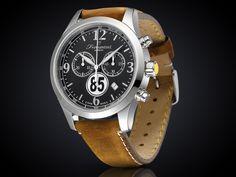 Fromanteel 85 Rally horloge met zwarte wijzerplaat 85-0301 Amsterdam