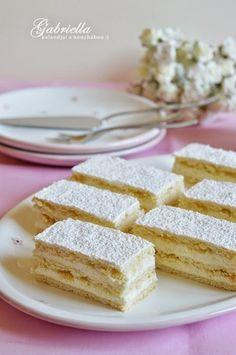 Gabriella kalandjai a konyhában :): Hófehérke Hungarian Desserts, Hungarian Recipes, Sweets Recipes, Cookie Recipes, My Recipes, Sweet Cookies, No Bake Cake, Love Food, Food And Drink