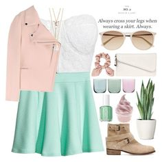 """The No. 2 Rule Of A Lady: Always Cross Your Legs When Wearing A Skirt. Always."" by raelee-xoxo ❤ liked on Polyvore"