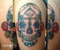 Tattoos Gallery, Skull, Skulls, Sugar Skull