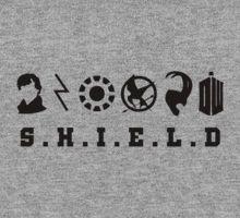 Sherlock, Harry, Iron Man, Everdeen, Loki, Doctor Who T-Shirt